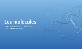 Les molécules