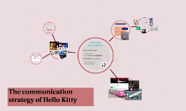 The communication strategy of Hello Kitty