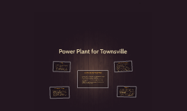 Power Plant for Townsville
