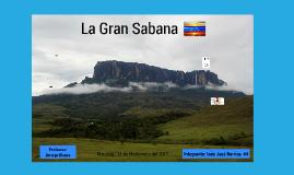 La Gran Sabana Luis Jose