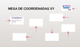 MESA DE COORDENADAS XY