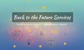 Back to the Future Services