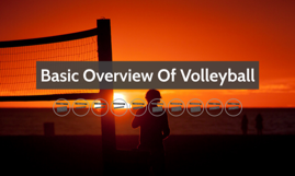 Basic Overview Of Volleyball