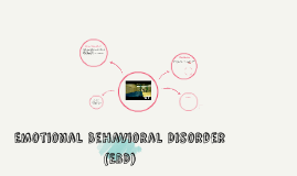 Emotional Behavioral Disorder (EBD)