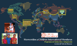 Bienvenidos a Children International Honduras