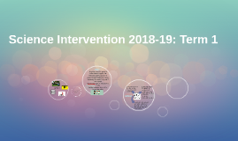 Copy of Science Intervention 2018-19
