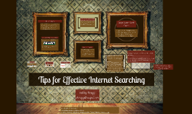 Tips for Effective Internet Searching