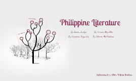Copy of Pre Colonial Philippine Literature