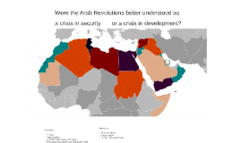 Were the Arab Revolutions better understood as