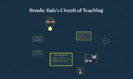 Brooke Bale's Circuit of teaching