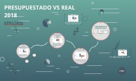 PRESUPUESTADO VS REAL 2018