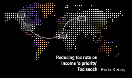 Reducing tax rate on income 'a priority' - Taoiseach Enda Ke