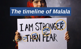 The timeline of Malala