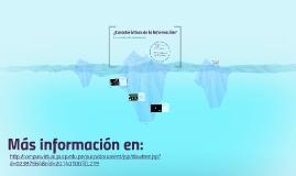 ¿Qué es información y qué no lo es?