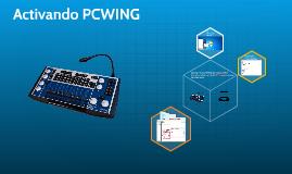 Activando PCWING