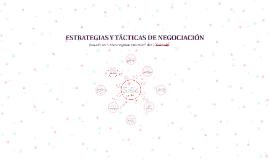 ESTRATÉGIAS Y TÁCTICAS DE NEGOCIACIÓN