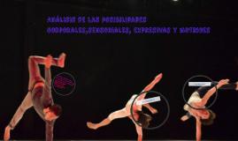 Análisis de las posibilidades corporales,sensoriales, expres