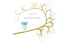 Chapter 11: Comprehension of Language
