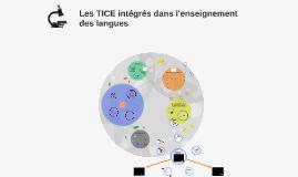 Les TICE intégrés dans l'enseignement des langues