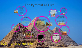 Jeanelle and Simon's project on the Pyramid of giza