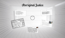 Aboriginal Justice