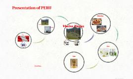 Presentation of PERU