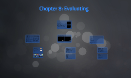 Chapter 9: Evaluating