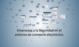 Amenazas a la seguridad en el entorno de comercio electrónic