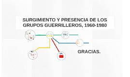 Copy of SURGIMIENTO Y PRESENCIA DE LOS GRUPOS GUERRILLEROS, 1960-198