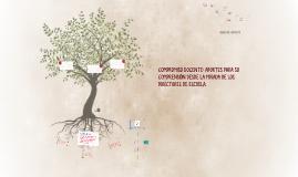 Copy of COMPROMISO DOCENTE: APORTES PARA SU COMPRENSIÓN DESDE LA MIR