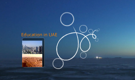 Education in the past and present in UAE.