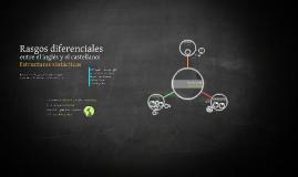 Rasgos diferenciales entre el inglés y el castellano: estructuras sintácticas