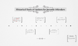 Historical Basis of Options for Juvenile Offenders