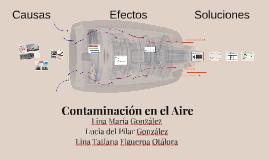 Contaminación en el Aire