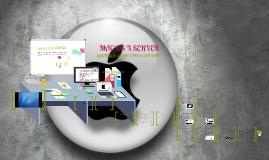 Copy of MAC OS X SERVER