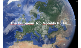 The European Job Mobility Portal