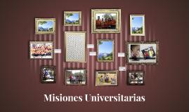 Misiones Universitarias