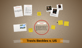 Travis Beckles v. US