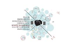 Plan de Mejoramiento Estratégico