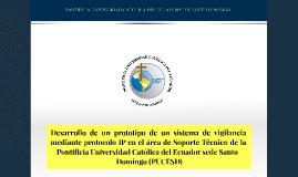 Sistema de vigilancia IP - Tesis