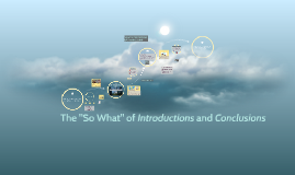 "The ""So What"" of Introductions and Conclusions"