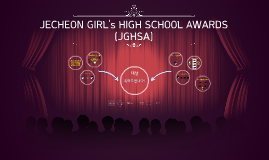 JECHEON GIRL's HIGH SCHOOL AWARDS