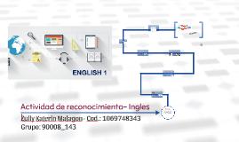 Actividad de reconocimiento- Ingles I
