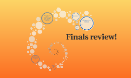 Copy of Finals review!