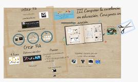 Copy of La Realidad Aumentada como herramienta educativa