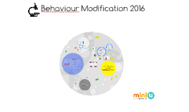 Behaviour Modification 2016