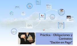 Práctica 3: Obligaciones y contratos