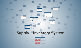 Supply – Inventory System