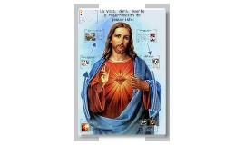 LA VIDA, OBRA, MUERTE Y RESURRECION DE JESUCRISTO