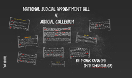 NATIONAL JUDICIAL APPOINTMENT BILL